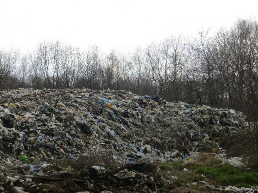 У Дрогобицькому районі сміттєзвалища загрожують екологічній безпеці