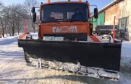 Вулиці міста від снігу прибирають новою технікою