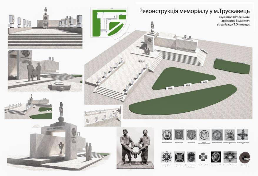 Комісія внесла зміни до нового проекту «Меморіального комплексу пам'яті загиблих захисників Вітчизни у всіх війнах за волю України»