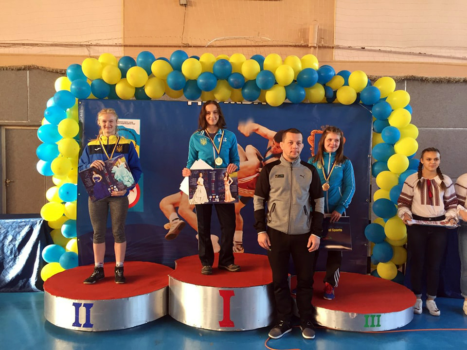 Трускавчанка Ірина Гусяк стала чемпіонкою України з вільної боротьби