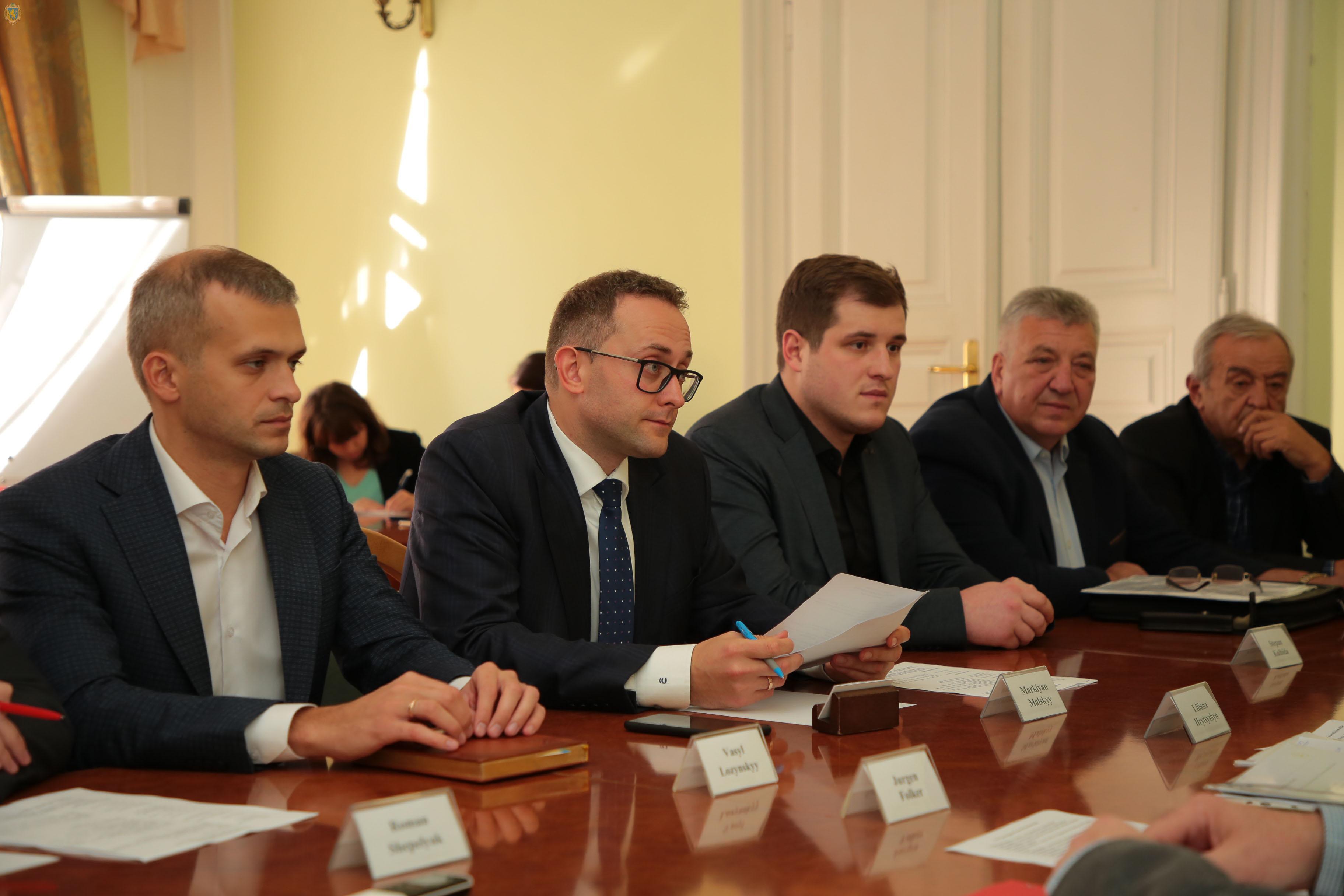 Моніторинг ситуації навколо Стебника обговорили в межах зустрічі з представниками німецької бізнес-делегації