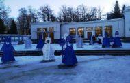 У Трускавці встановили унікальну Різдвяну інсталяцію